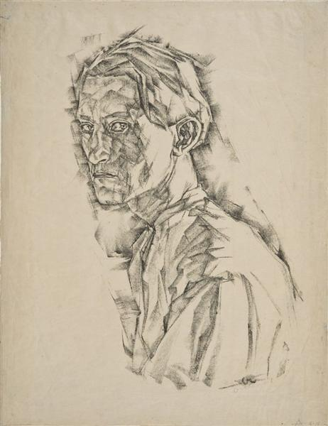 Self Portrait, 1918 - Josef Albers