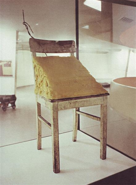 Fat chair, 1964 - Joseph Beuys