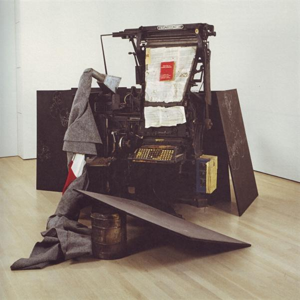 Terremoto, 1981 - Joseph Beuys