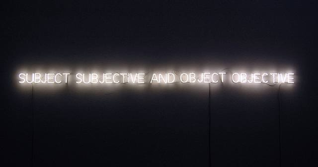 Subject and Object, 1966 - Joseph Kosuth