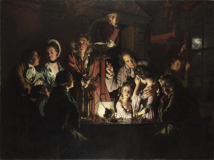 An Experiment on a Bird in the Air Pump, 1768 - Joseph Wright