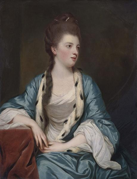 Elizabeth Kerr, Marchioness of Lothian, c.1769 - Joshua Reynolds