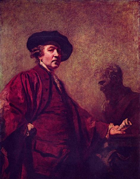 Self-Portrait, c.1773 - Joshua Reynolds