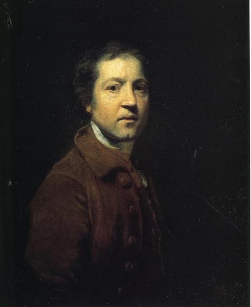 Self-Portrait, c.1753 - c.1755 - Joshua Reynolds