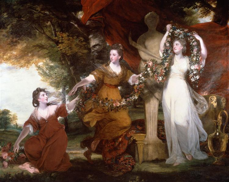Three Ladies Adorning a Term of Hymen, 1773 - Joshua Reynolds