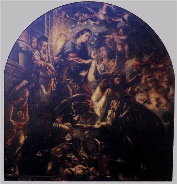 Miracle of St. Ildefonsus, 1661 - Juan de Valdés Leal