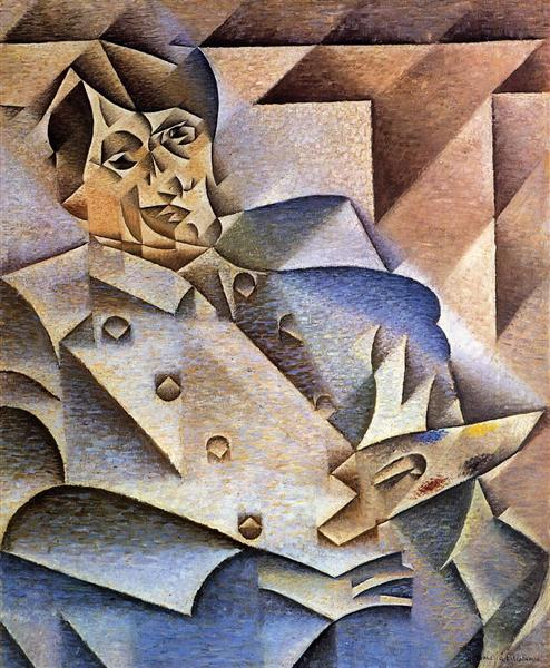 Portrait of Pablo Picasso, 1912 - 胡安·格里斯