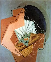 Woman With Basket - Juan Gris