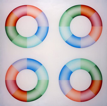 Pasadena Lifesavers Red Series #2, 1970 - Judy Chicago