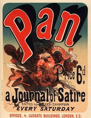 Pan, a Journal of Satire, 1900 - Jules Chéret