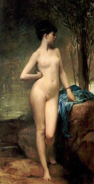 Chloé, 1875 - Jules Joseph Lefebvre
