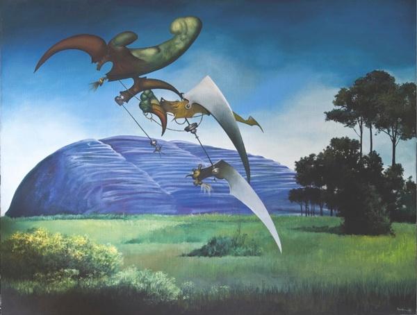 Paysage traverse d'incantations, 1986 - Жюль Перахим