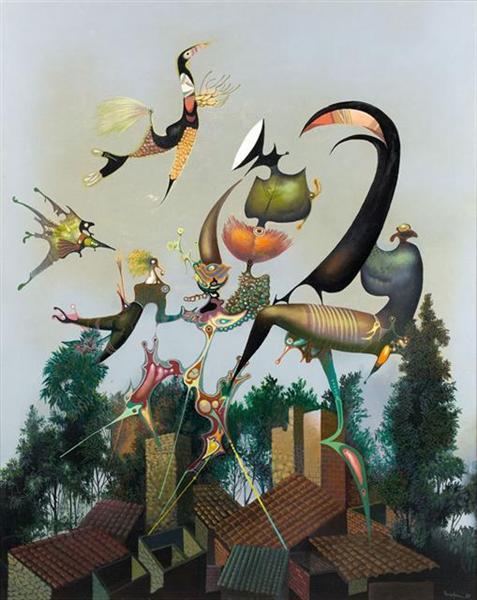 Peripherie singuliere, 1986 - Jules Perahim