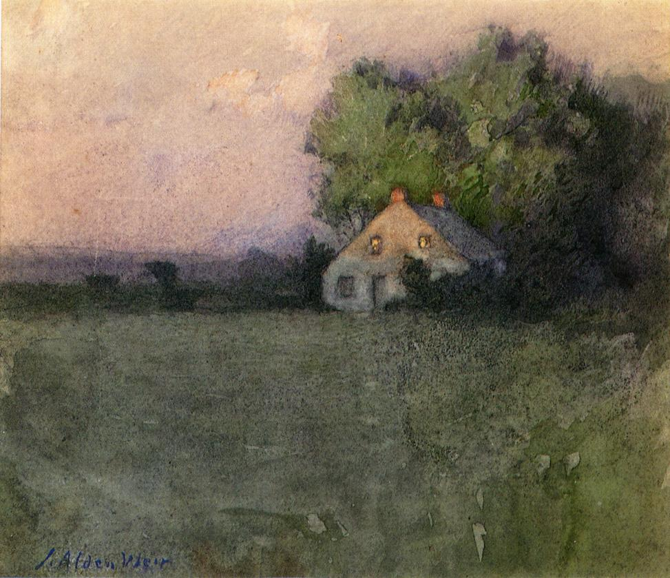 Julian Alden Weir Oil Paintings