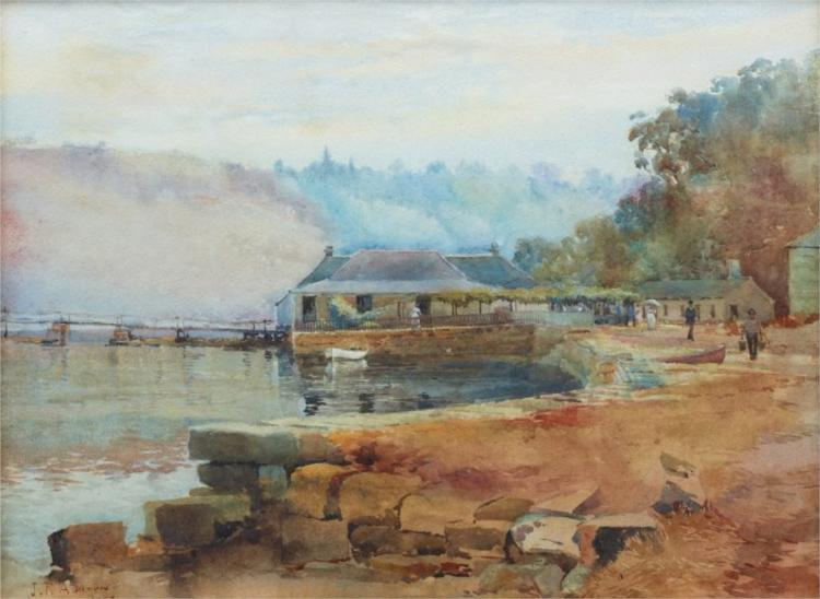 Mosman's Bay - Julian Ashton