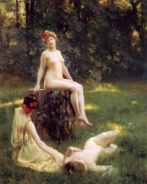 The Glade, 1900 - Julius Stewart