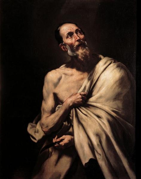 St. Bartholomew - Jusepe de Ribera