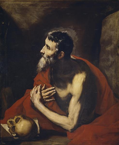 St. Jerome, 1644 - Jusepe de Ribera