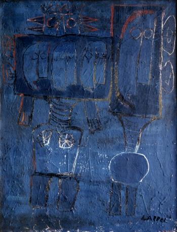 Little Moon Men, 1946 - Karel Appel
