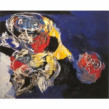 Woman with Head, 1964 - Karel Appel