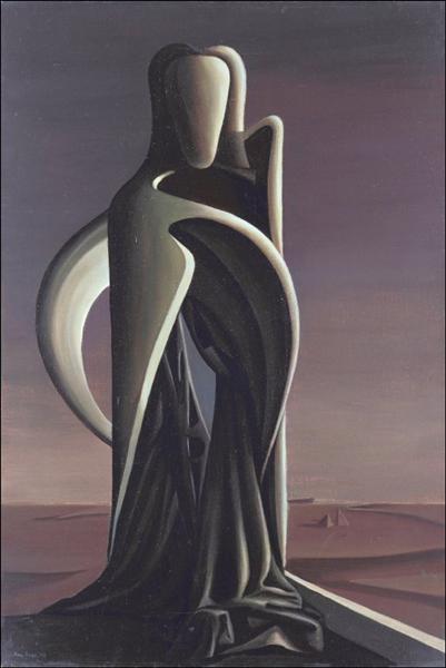 The Hidden Letter, 1943 - Kay Sage