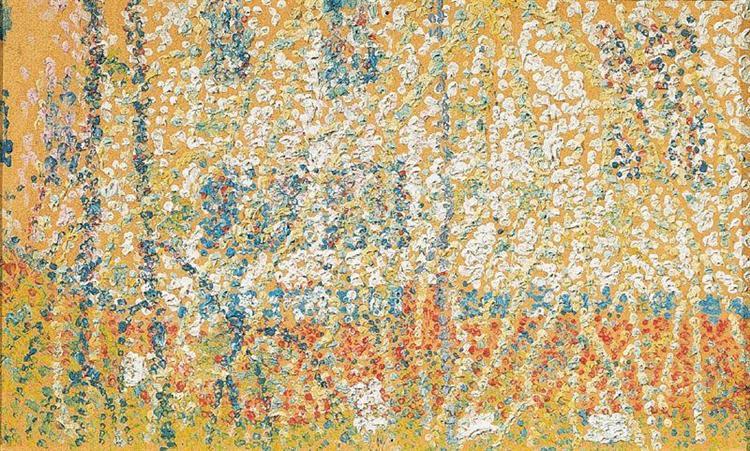 Landscape - Kazimir Malevich