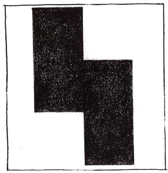 Movement Suprematist square, 1920 - Kazimir Malevich