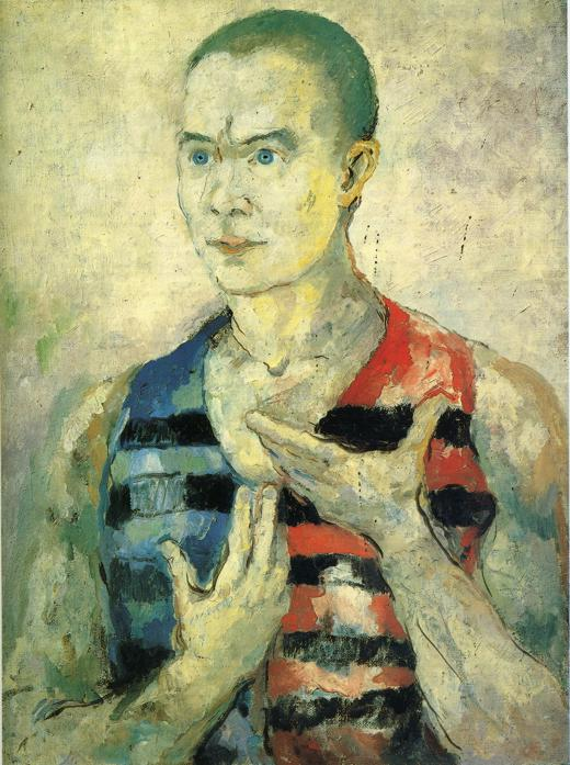 Portrait of a Youth - Kazimir Malevich - WikiArt.org ...