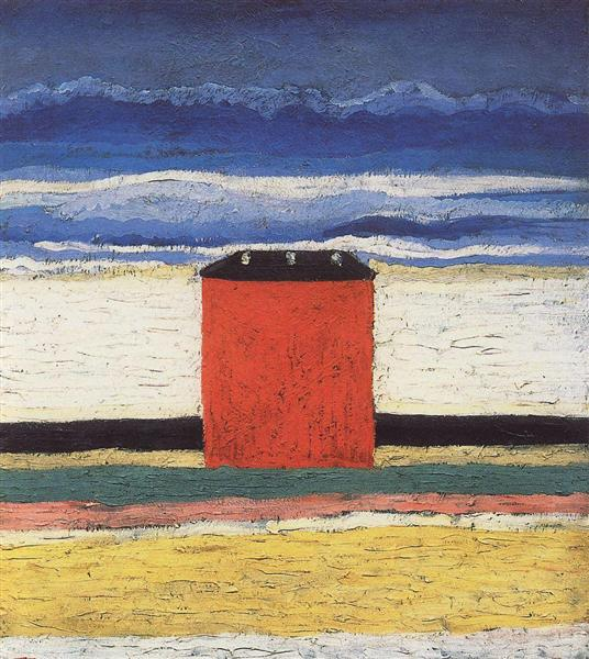 Red House, 1932 - Kazimir Malevich