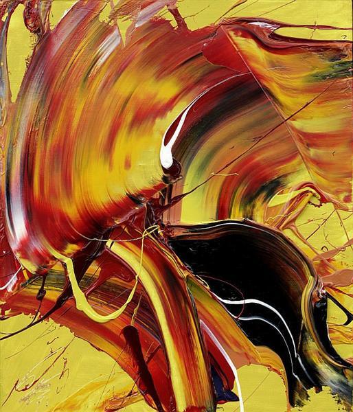 Sacred Flame, 1975 - Kazuo Shiraga