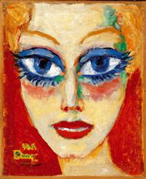 Woman with Blue Eyes - Kees van Dongen
