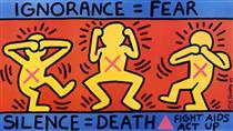 Ignoranza = Paura - Keith Haring