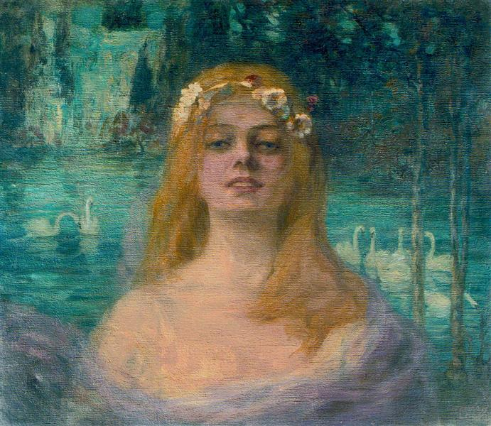 The Lake Fairy, 1915 - Kimon Loghi