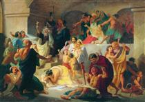 Christian martyrs in the Colosseum - Константин Флавицкий