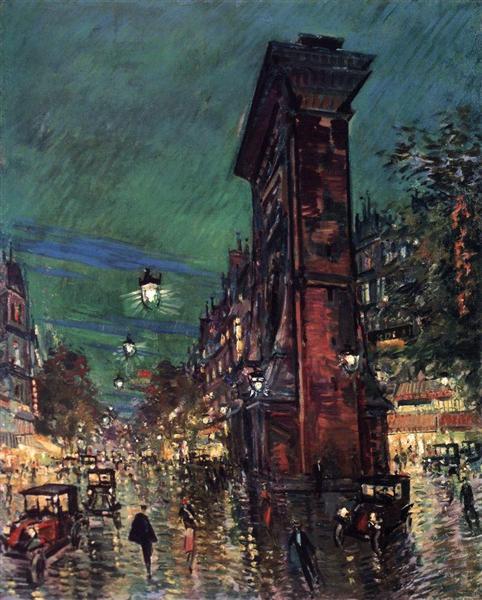 Paris. Saint Denis Arc, c.1930 - Konstantín Korovin