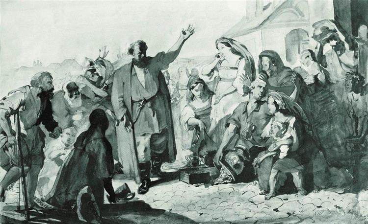 Kuzma Minin, c.1850 - Konstantin Makovsky