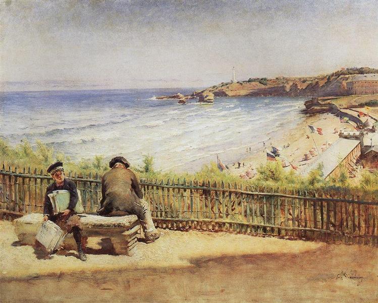 Landscape, c.1890 - Konstantin Makovsky
