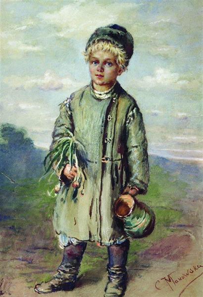 Peasant Boy, c.1880 - Konstantin Makovsky