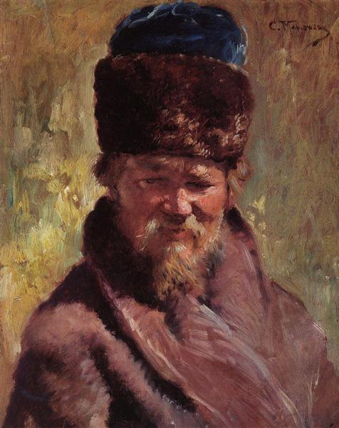 Portrait - Constantin Makovski