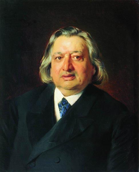 Portrait of Ossip Petrov, 1870 - Konstantin Makovsky