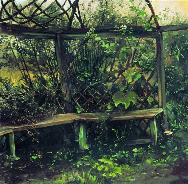 Summerhouse, 1889 - Konstantin Makovsky