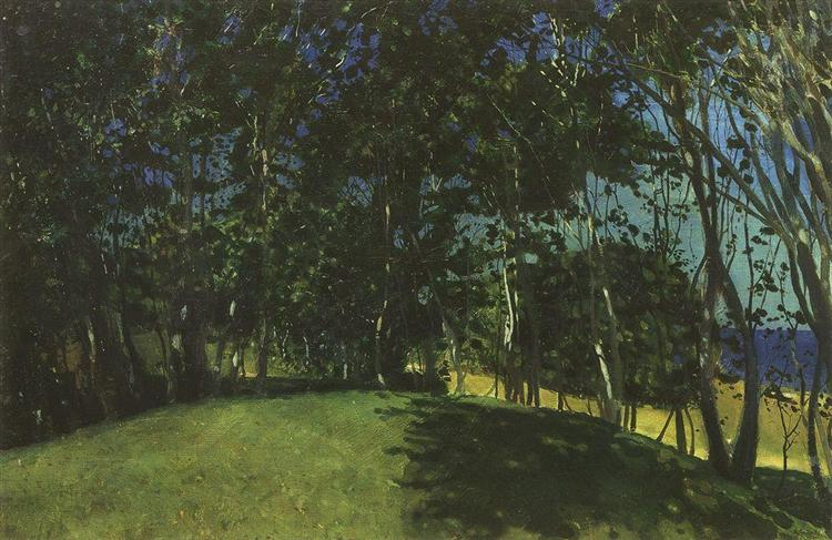 Grove on the Seashore. Sillamyagi, 1900 - Konstantin Somov