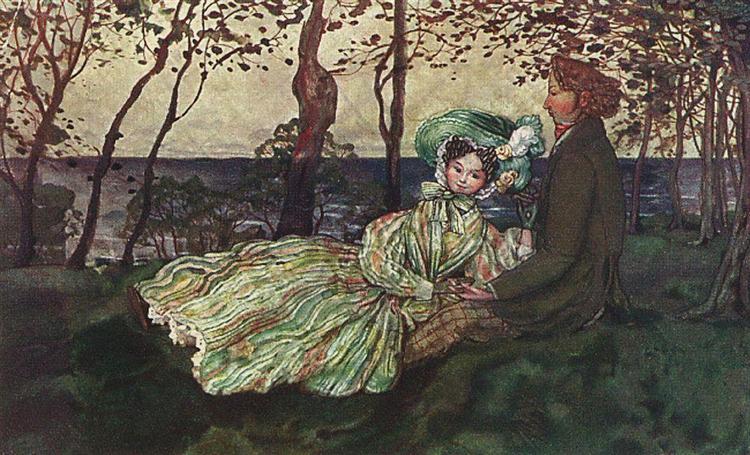 Idyll, 1905 - Konstantin Somov