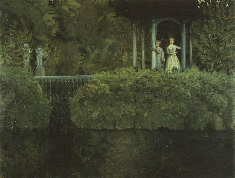 Island of Love, 1900 - Konstantin Somov