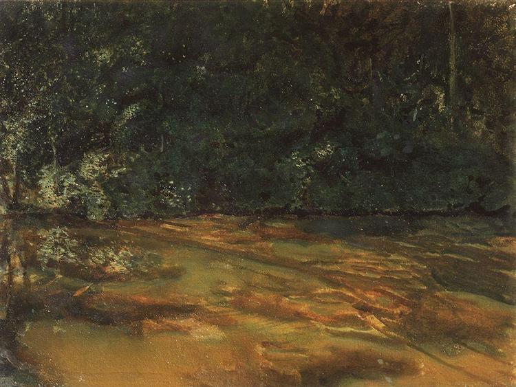 Overgrown Pond, 1899 - Konstantín Sómov