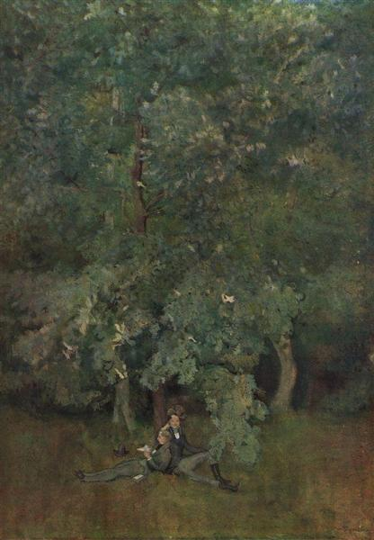 Poets, 1898 - Konstantin Andrejewitsch Somow
