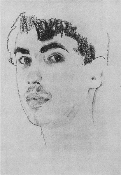 Portrait of N. Poznyakov, 1910 - Konstantin Somov
