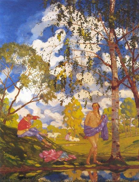 Summer Morning, 1920 - Konstantin Somov