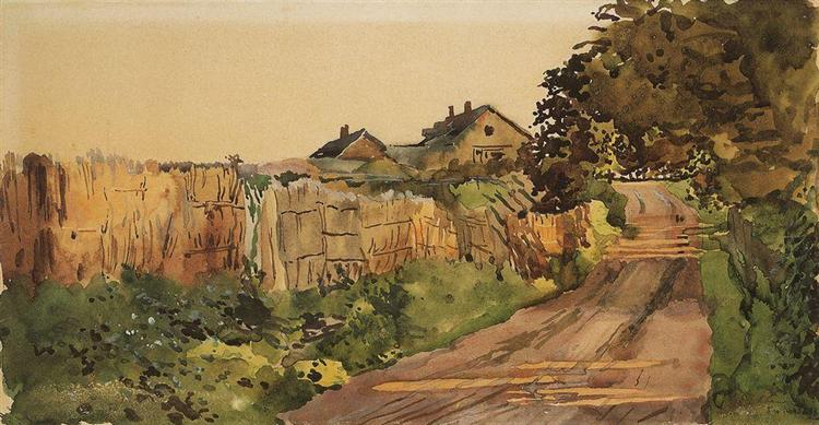 The Road in the Country, 1896 - Konstantin Somov