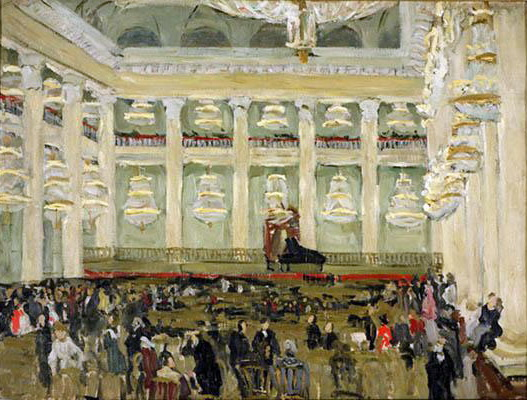 In the Assembly of Nobility, 1908 - Konstantin Fjodorowitsch Juon